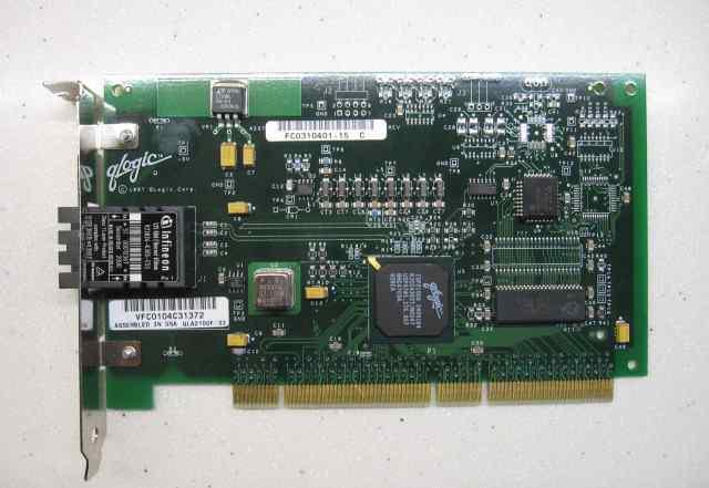 Контроллер оптика 1GBit PCI64 FC Card