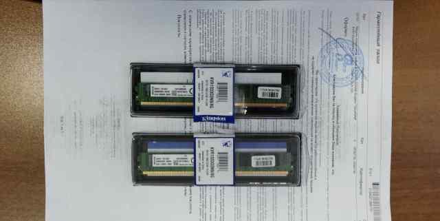 Модули памяти 8гб DDR3 Kingston (KVR1333D3N9/8G)