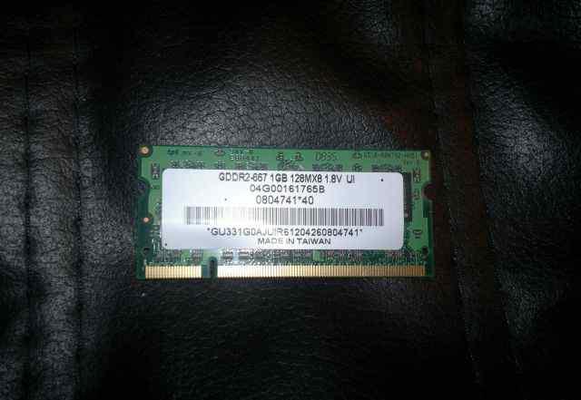 Память so-dim DDR2 667-1Gb