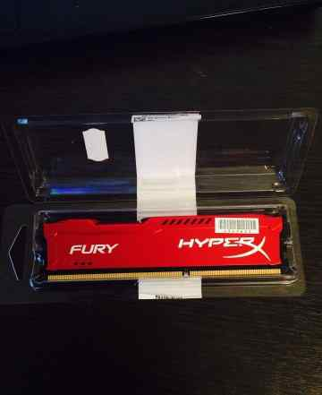 Память DDR3 4GB Kingston HyperX Fury Red Series