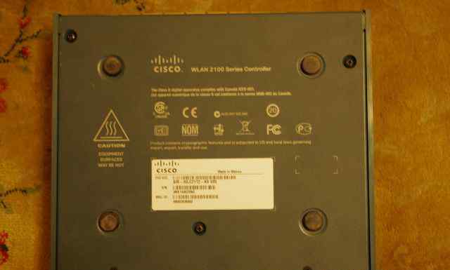 Беспроводной Wi-Fi контроллер Cisco AIR-WLC2112-K9
