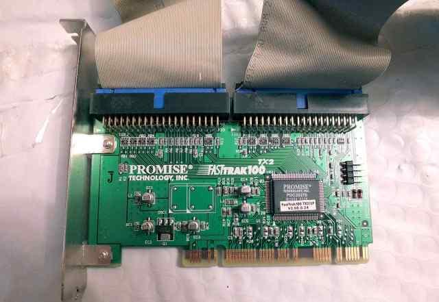 Контроллер PCI 2xIDE ATA100 Promise FastTrak100
