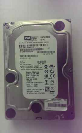 Жесткий диск Western Digital WD7502abys 750Gb 3.5
