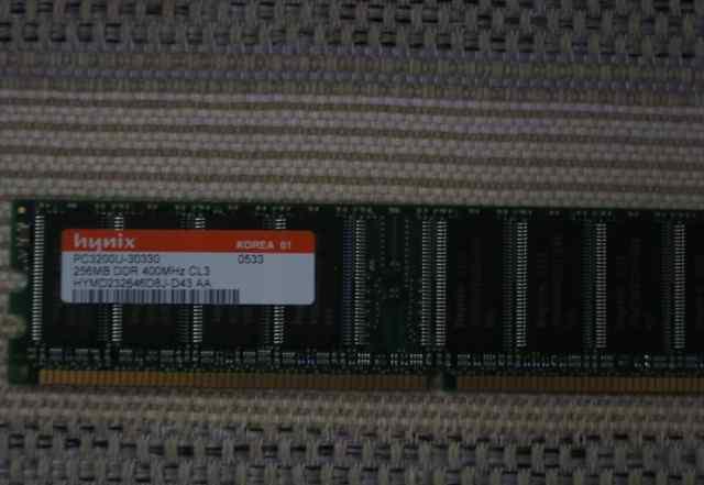 Модули памяти hynix PC3200, 256MB, DDR