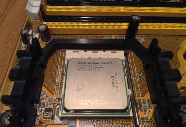 Материнская плата Asus M2NPV-VM socket AM2 + цп