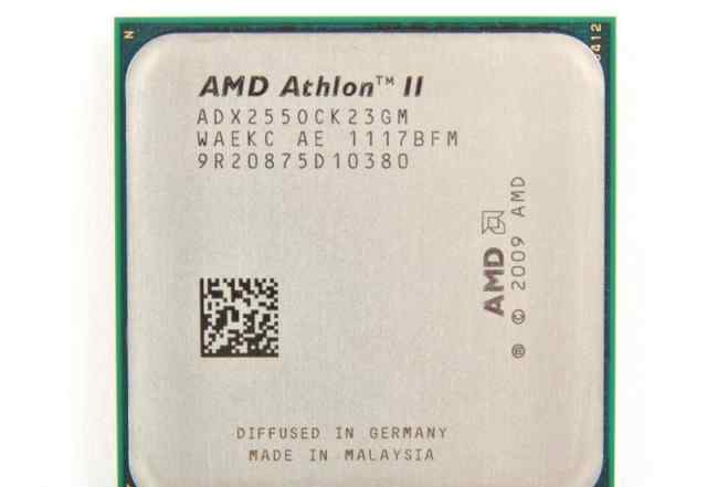 AMD Athlon II X2 255 (Socket AM3, 2 ядра, 3.1 ггц)