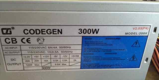 Codegen 300w model 200x