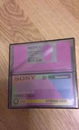 Дискеты Sony в упаковке