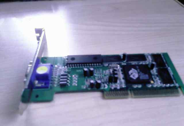 AGP 4x/2x видеокарта 8 MB