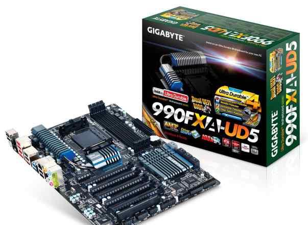 GigaByte 990FXA-UD5 rev 3.0, сокет AM3+