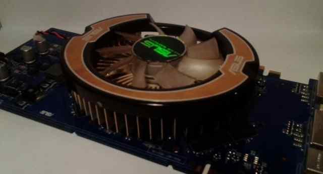 Видеокарта Asus nvidia geforce gt9600
