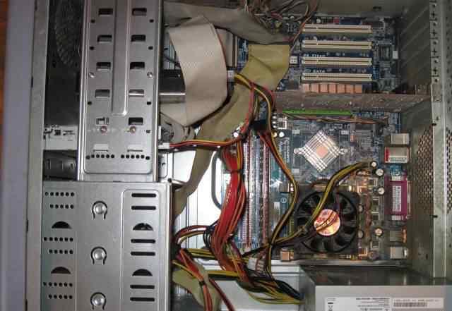 Системный блок Intel Pentium 4, 2800 MHz