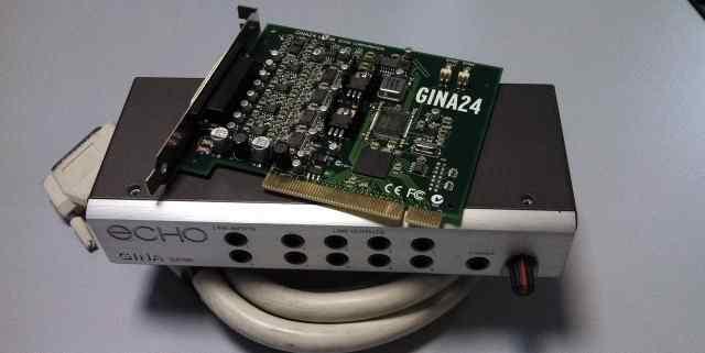 Звуковая карта Echo Gina 24/96 PCI