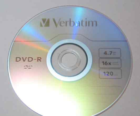 DVD-R Disc Verbatim 4.7 Gb 16X, 25 шт. на шпинделе