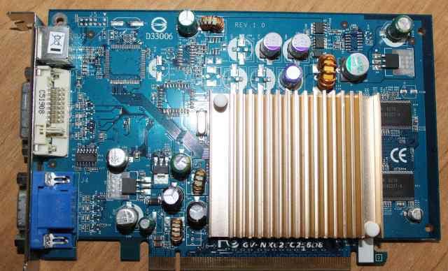 GeForce 6200 PCI-E gigabyte GV-NX62TC256D8