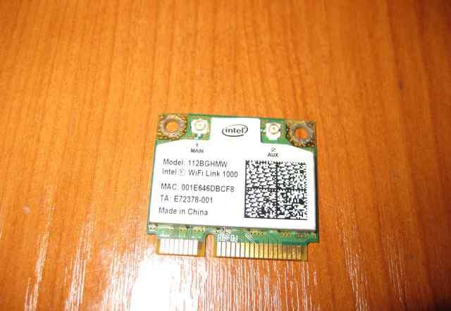 WiFi для ноута Intel 1000 (802.11a/b/g) 112bghmw