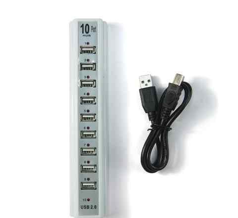 USB-хаб на 10 портов