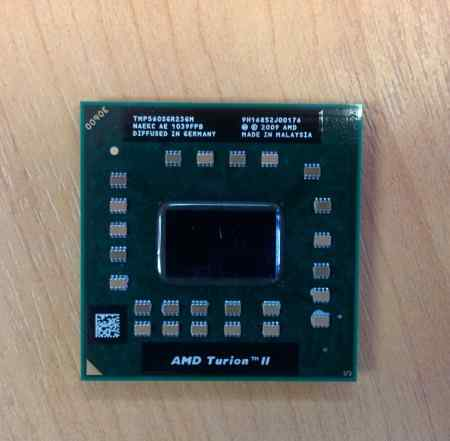 Процессор AMD Turion 2 Dual-Core P560 2.5Ghz