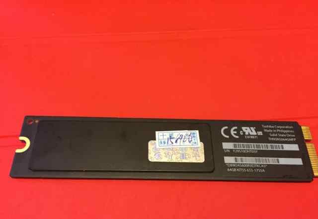 Apple SSD MacBook Air A1465 A1466 64 Gb 2012