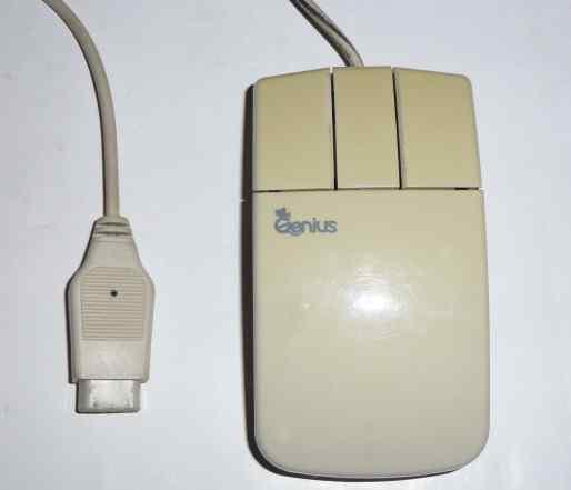 Мышь с COM портом Genius EasyMouse