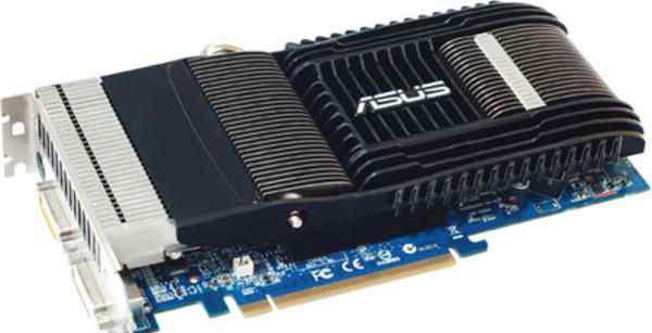 Видеокарта asus nvidia GeForce 9600GT Silent