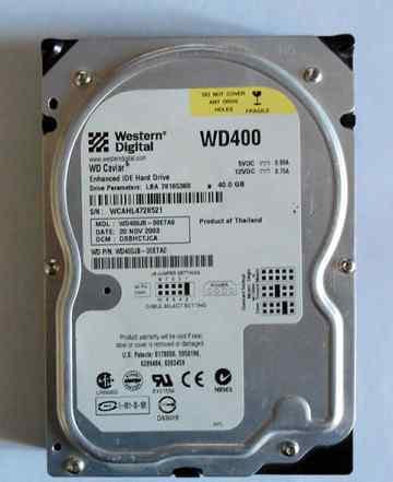 Western digital WD400 40GB