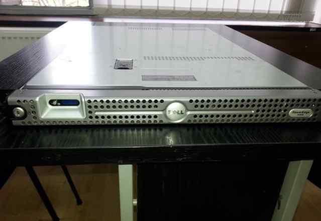 Сервер Dell PowerEdge R300 1U + новые диски