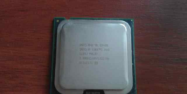 Intel core2 duo slb9j malay