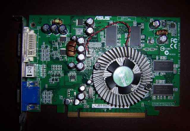 Видеокарта asus EAX700-X/TD 128 Мб DDR