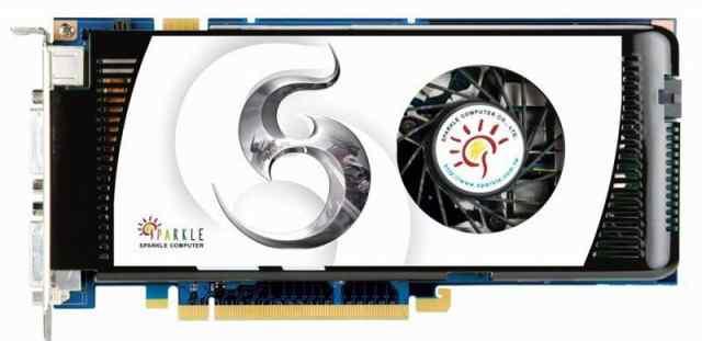 NVidia GeForce 9600 GT. Sparkle