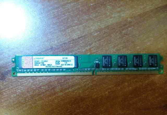 Оперативная память DDR2 1GB KVR800d2n5/1G