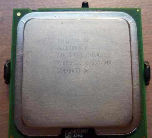 Intel Celeron D336 SL8H9 (2.8GHz) S775