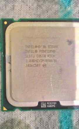 Intel Pentium E5500 2800MHz
