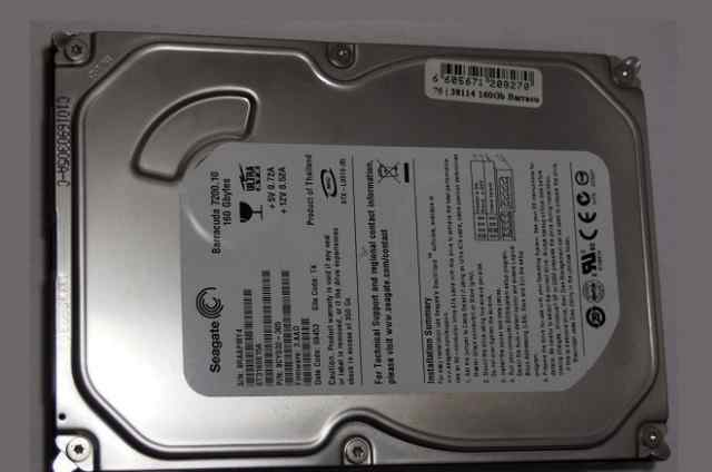 Seagate Barracuda 7200.10 160GB IDE 3.5 без бэдов
