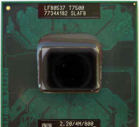 Процессоры Intel Core 2 Duo Т5600/T7500