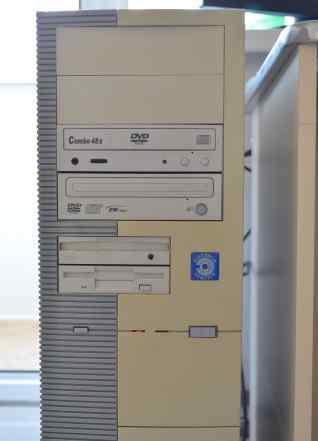 Системный блок (компьютер) P4 2.4GHz 1Gb RAM 80Gb
