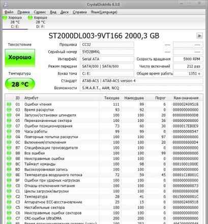 6 терабайт (3x2TB)