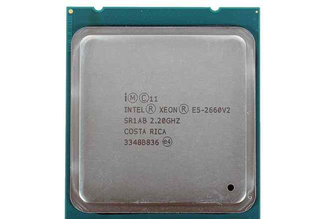 Intel Xeon E5 2660 V2 Core i7 LGA2011 10 ядер