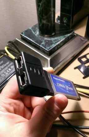 Expresscard /34 ieee 1394a Firewire 2 порта