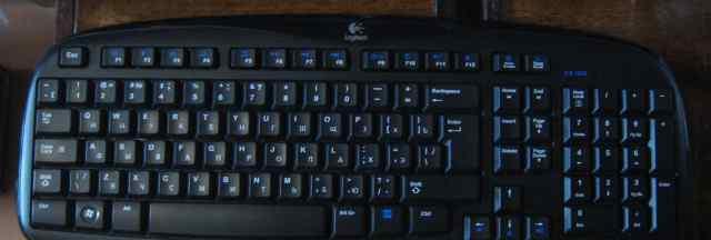 Клавиатура беспроводная Logitech Cordless EX-100