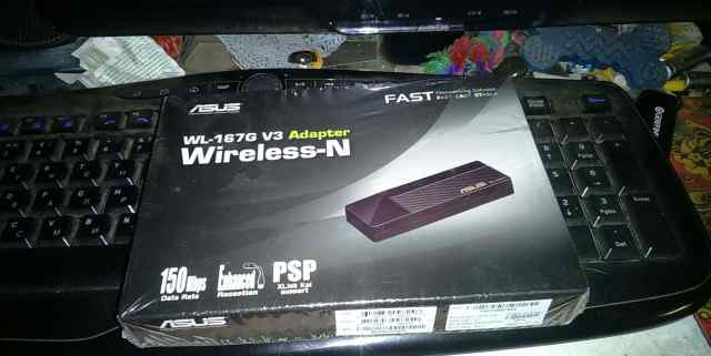 USB-адаптер 802.11n asus WL-167g V3