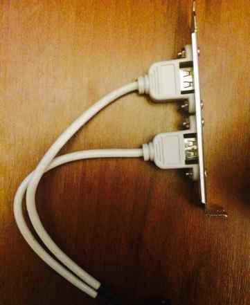 Планка USB 2.0 2 порта