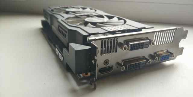 Asus GeForce GTX 650 Ti 954Mhz 1024Mb 5400 мгц