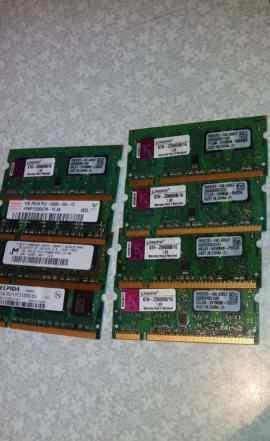 Память для ноута 1Gb DDR2 667Мгц