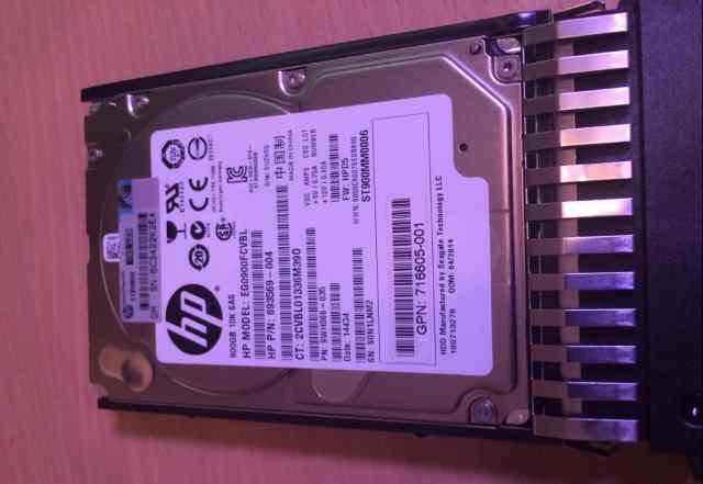 HP Жесткий диск 900GB 10K 6G SFF SAS 2.5