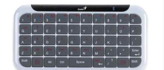 Клавиатура Genius Mini LuxePad white Bluetooth
