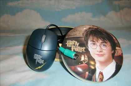 Мышь Memorex Harry Potter Mini Optical Mouse PS/2