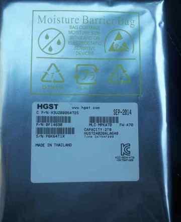 Жесткий диск hgst HUS724020ALA640