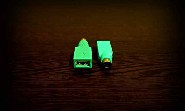 Переходник адаптер для мыши, клавиатуры USB - PS/2