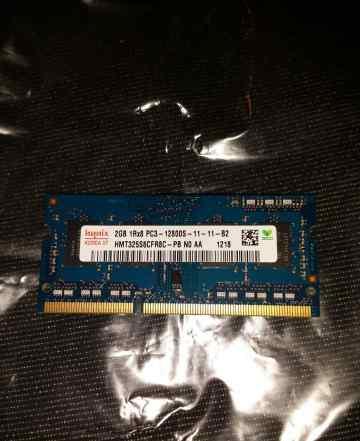 Hynix 2GB 1Rx8 PC3-12800S-11-11-B2